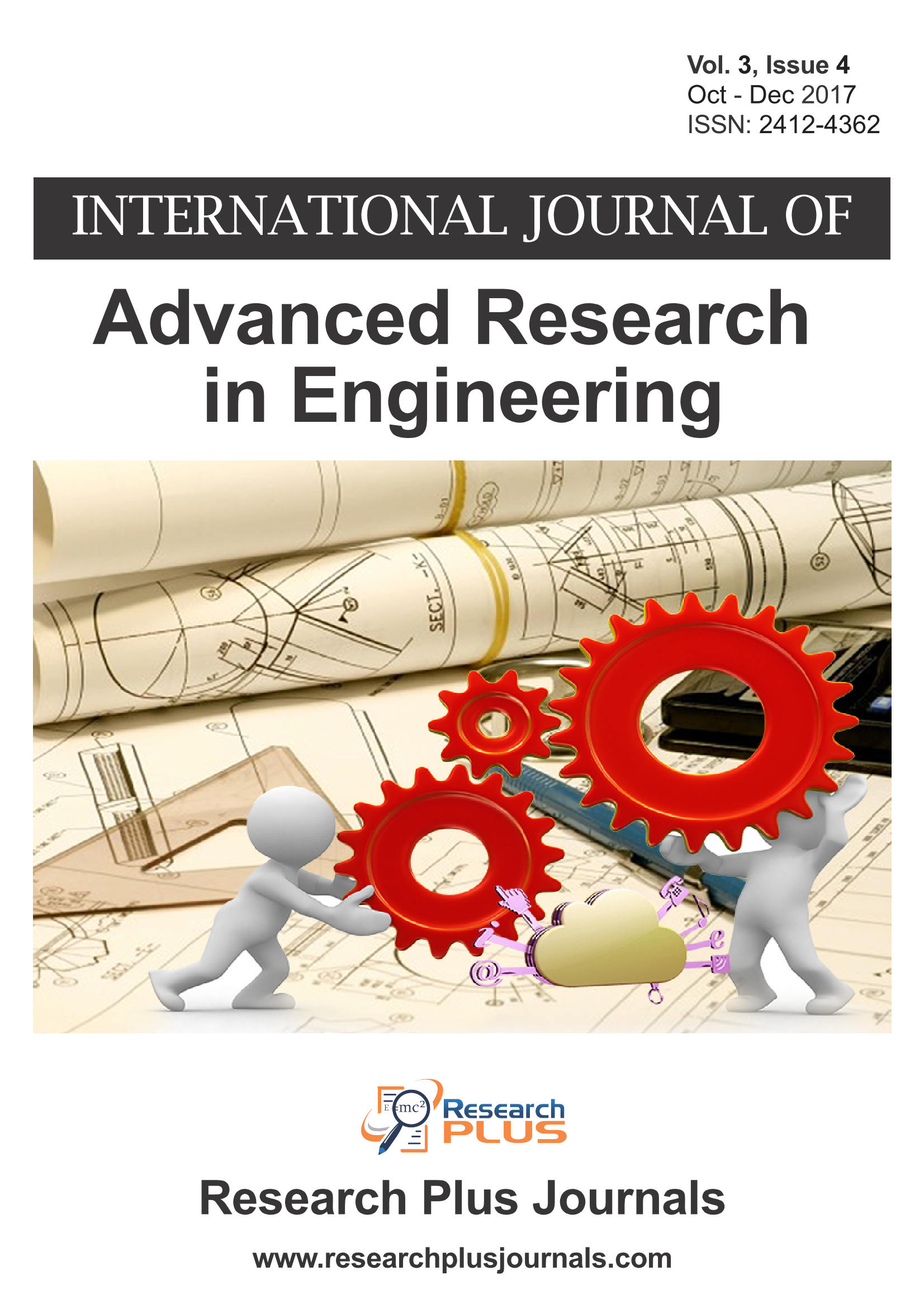Volume 3, Issue 4, International Journal of Advanced Research in Engineering (IJARE)  (Online ISSN 2412-4362)