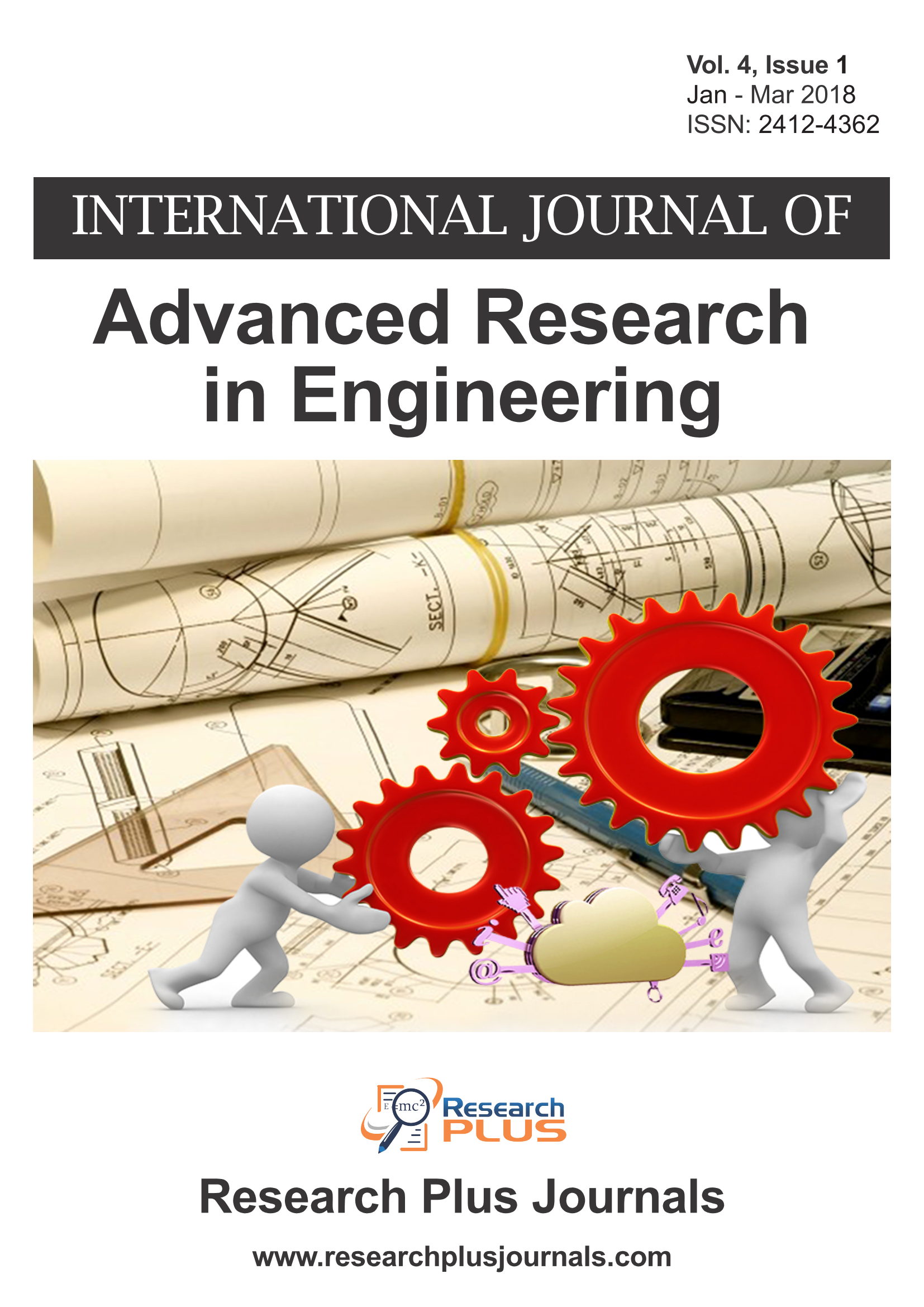 Volume 4, Issue 1, International Journal of Advanced Research in Engineering (IJARE)  (Online ISSN 2412-4362)