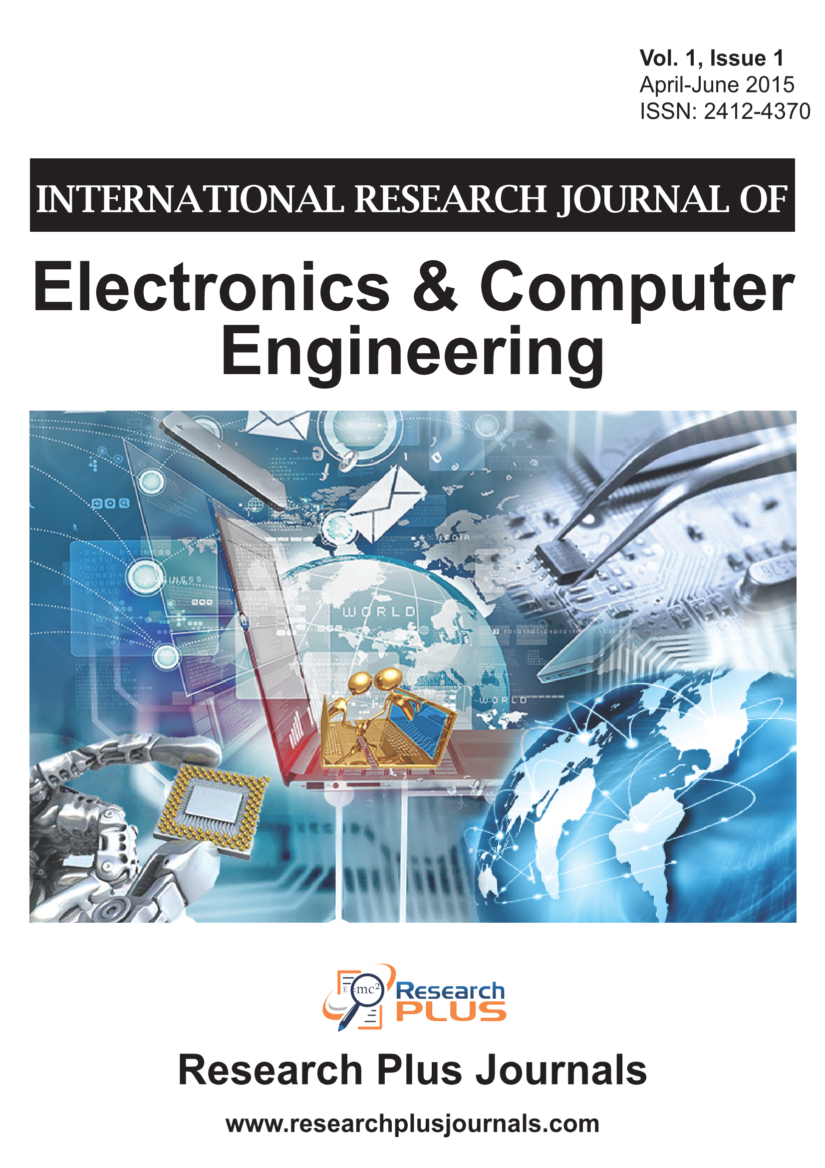Volume 1. Issue 1, International Research Journal of Electronics and Computer Engineering