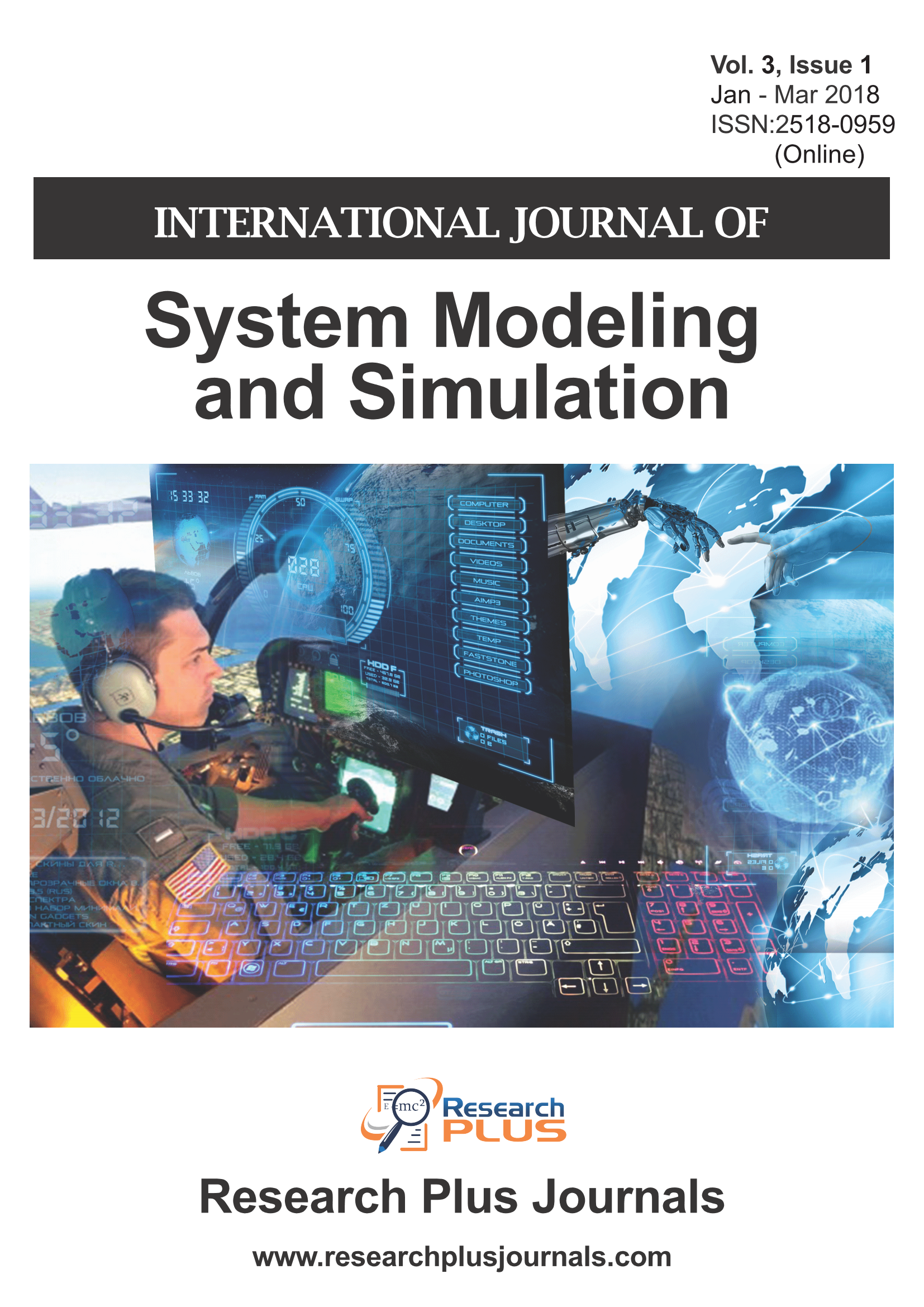 Volume 3, Issue 1, International Journal of System Modeling and Simulation (IJSMS)  (Online ISSN: 2518-0959)